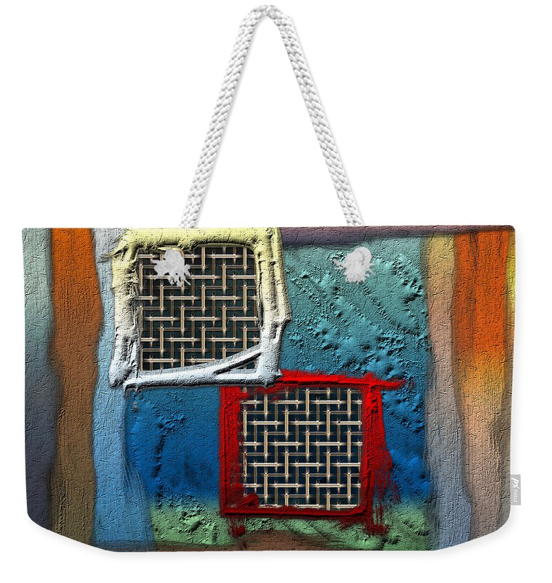 'abstracts Plus' Collection By Serge Averbukh Weekender Tote Bag featuring the photograph Obstructed Ocean View by Serge Averbukh