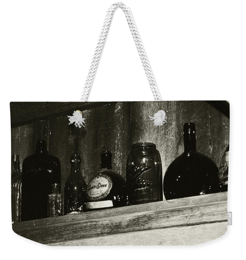 Antiques Weekender Tote Bag featuring the photograph Old And Forgotten by RC DeWinter