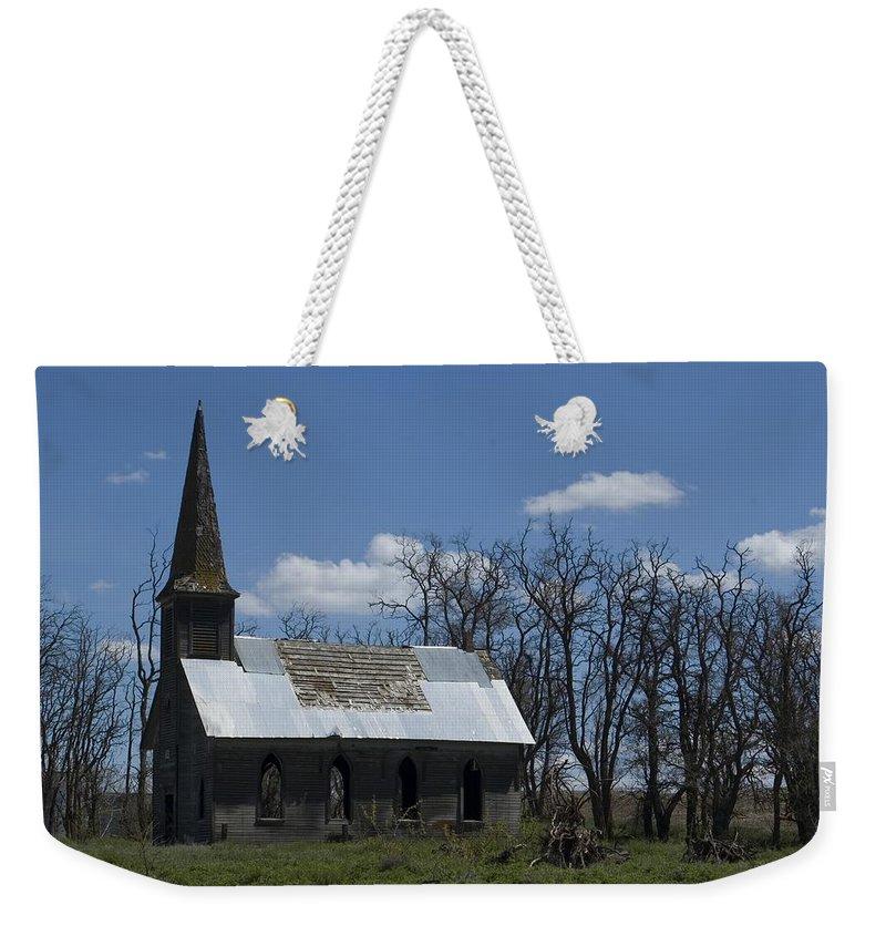 Church Weekender Tote Bag featuring the photograph Old Church by Sara Stevenson