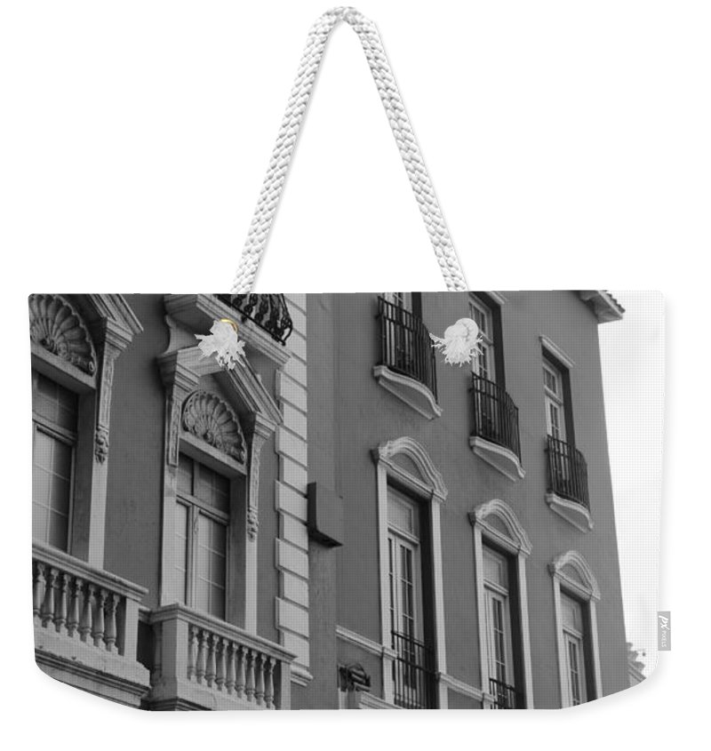 Old San Juan Puerto Rico Downtown Weekender Tote Bag featuring the photograph Old San Juan Puerto Rico Downtown by Robert Smith