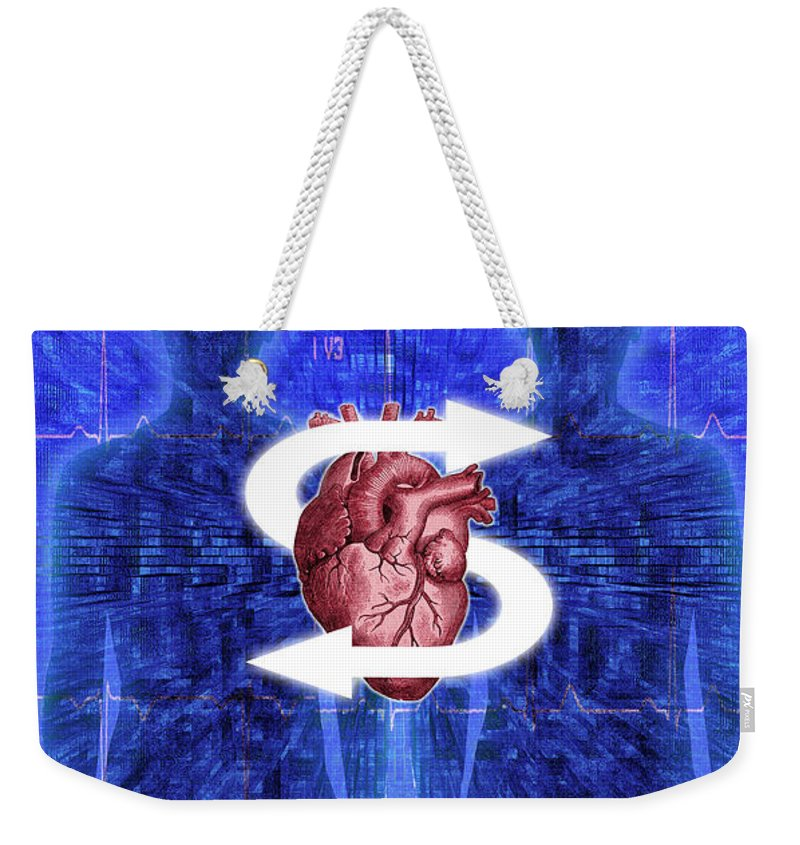 Organ Donation Weekender Tote Bag featuring the photograph Organ Donation by George Mattei