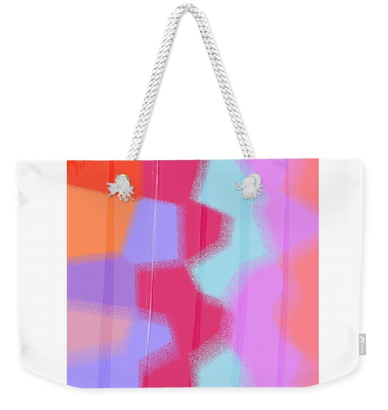 women's Fashion teen Fashion girl's Fashion Fashion Weekender Tote Bag featuring the photograph Oversprayed by Bill Owen