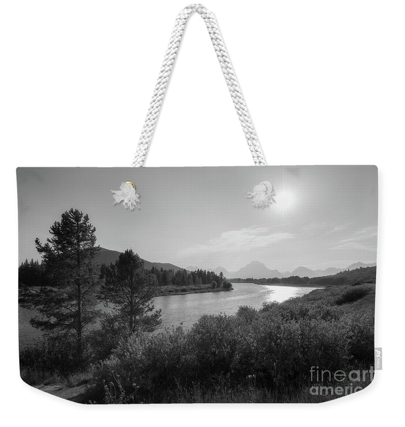 Oxbow Bend Weekender Tote Bag featuring the photograph Oxbow Bend Grand Teton National Park by Michael Ver Sprill
