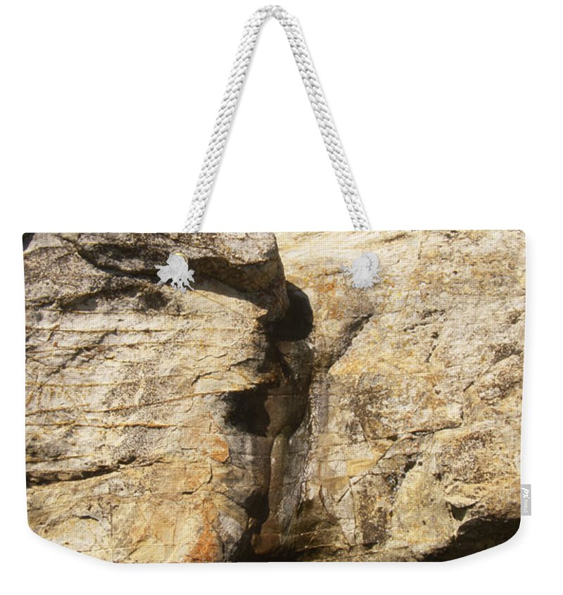 Painted Rock Weekender Tote Bag featuring the photograph Painted Rock by Soli Deo Gloria Wilderness And Wildlife Photography