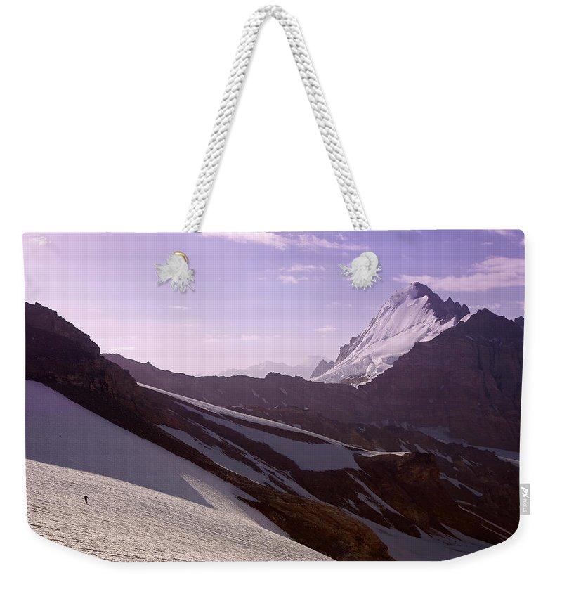 Beautiful Weekender Tote Bag featuring the photograph Pamir by Konstantin Dikovsky