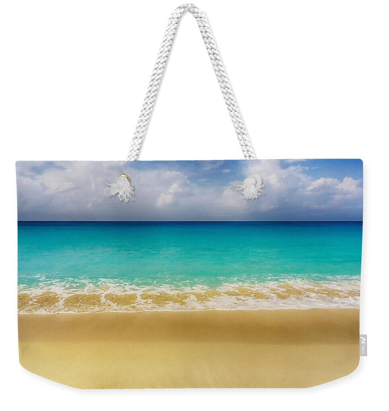 Ocean Weekender Tote Bag featuring the photograph Paradise by Amanda Jones