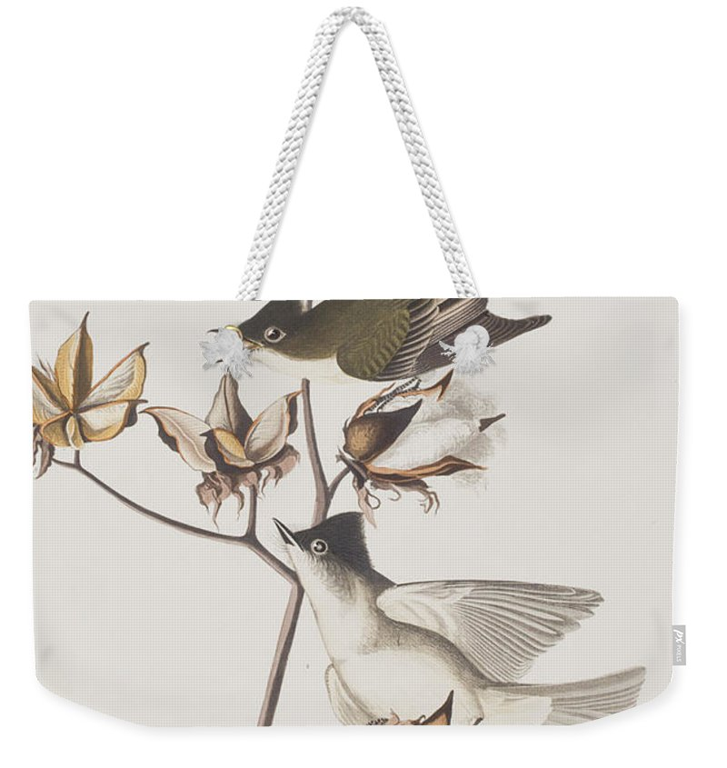 Flycatcher Weekender Tote Bags