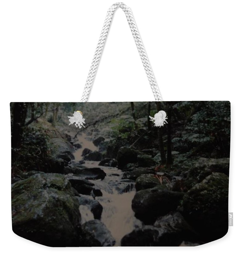 Water Weekender Tote Bag featuring the photograph Puerto Rico Water by Rob Hans