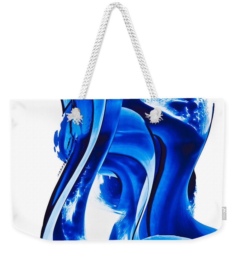 Light Waves Weekender Tote Bags