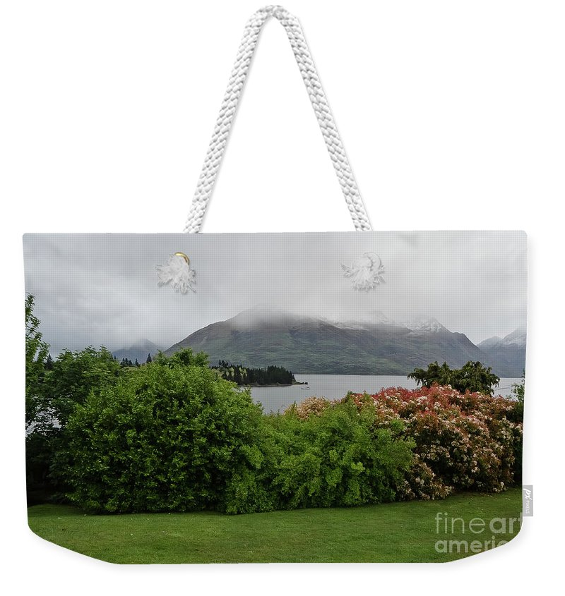 Queenstown Weekender Tote Bag featuring the photograph Queenstown, New Zealand by Yurix Sardinelly