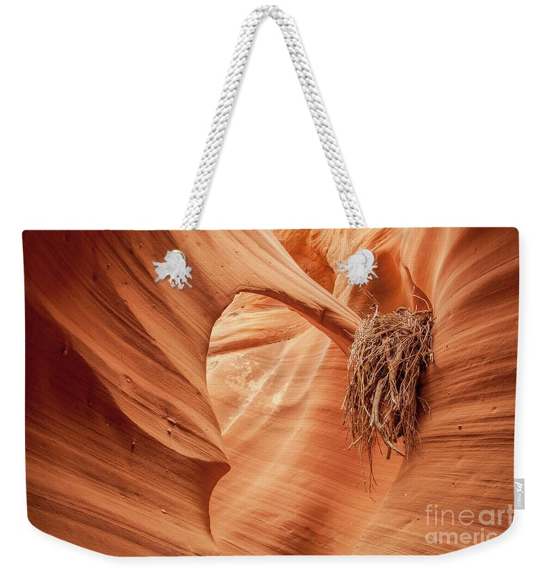 Rattlesnake Canyon Weekender Tote Bag featuring the photograph Rattlesnake Canyon, Page, Arizona by Martin Williams