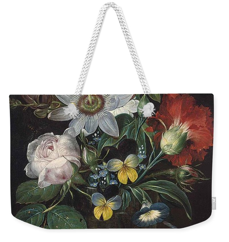Sigvard Hansen Weekender Tote Bag featuring the painting Relaxing Afternoon by MotionAge Designs