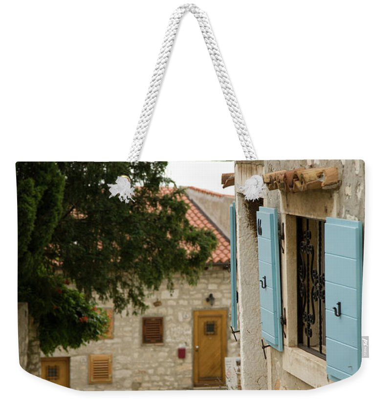 Croatia Weekender Tote Bag featuring the photograph Rovinj by Ian Middleton