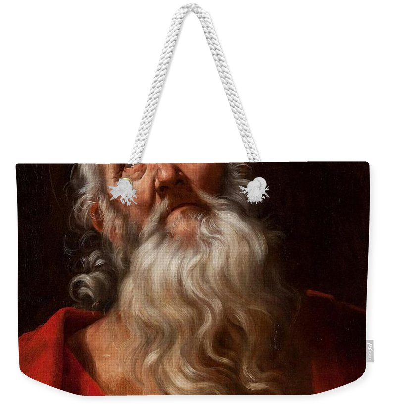 Guido Reni (bologna 1575 - 1642) Weekender Tote Bag featuring the painting Saint Jerome by MotionAge Designs