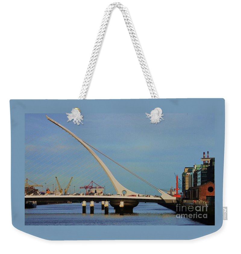 Sam Beckett Weekender Tote Bags