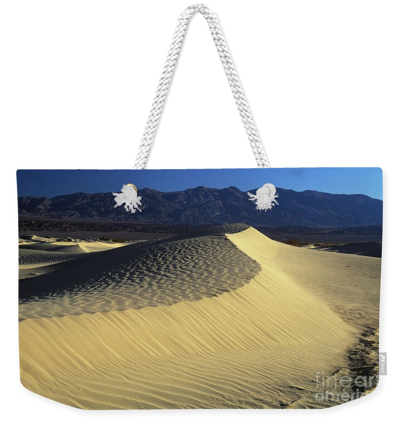 Sand Weekender Tote Bag featuring the photograph Sand Dunes by Jim And Emily Bush