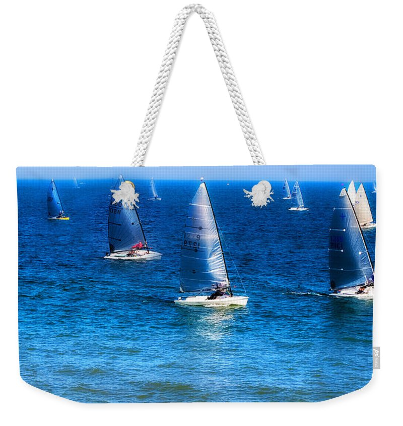 Sea Weekender Tote Bag featuring the photograph Seaside Fun by Mal Bray