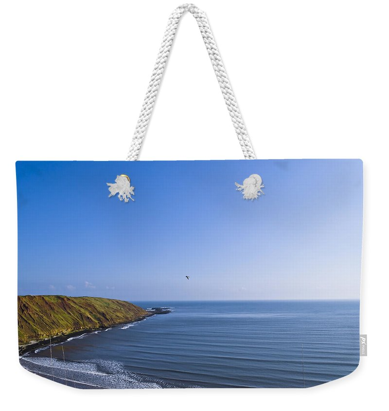 Seaside Weekender Tote Bag featuring the photograph Seaside by Svetlana Sewell