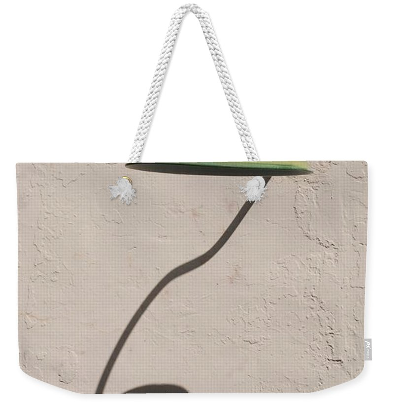 Art Weekender Tote Bag featuring the photograph Shadow Lamp by Rob Hans