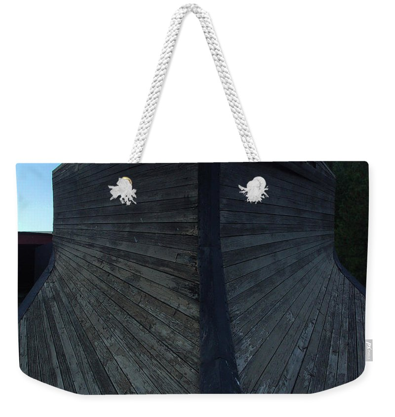 Train Weekender Tote Bag featuring the photograph Snow Plow by Peter Piatt