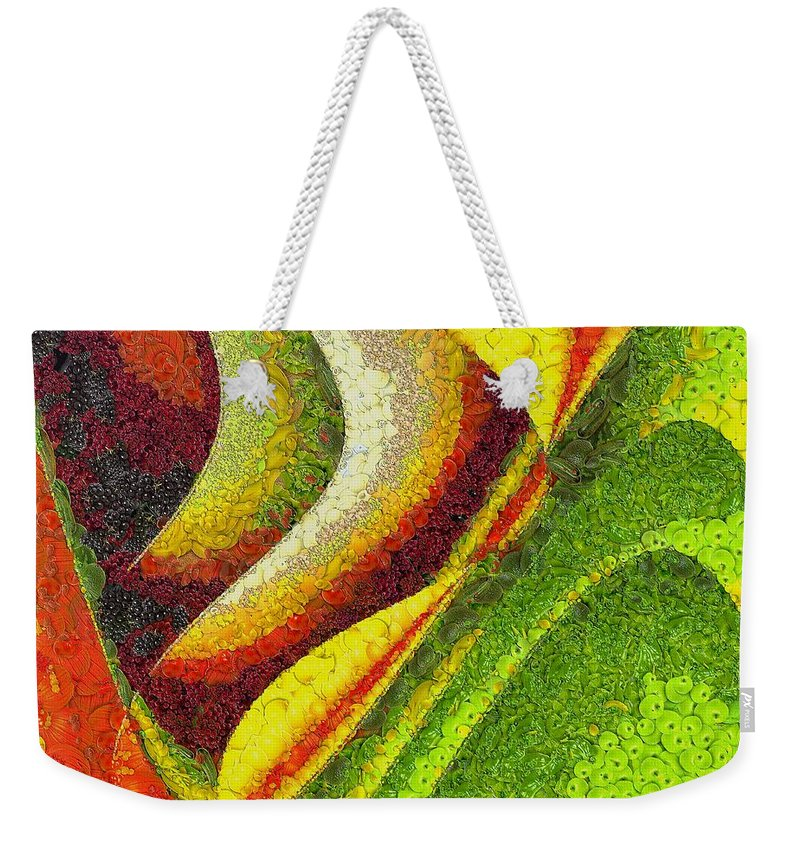 Spring Weekender Tote Bag featuring the painting Spring by Dragica Micki Fortuna