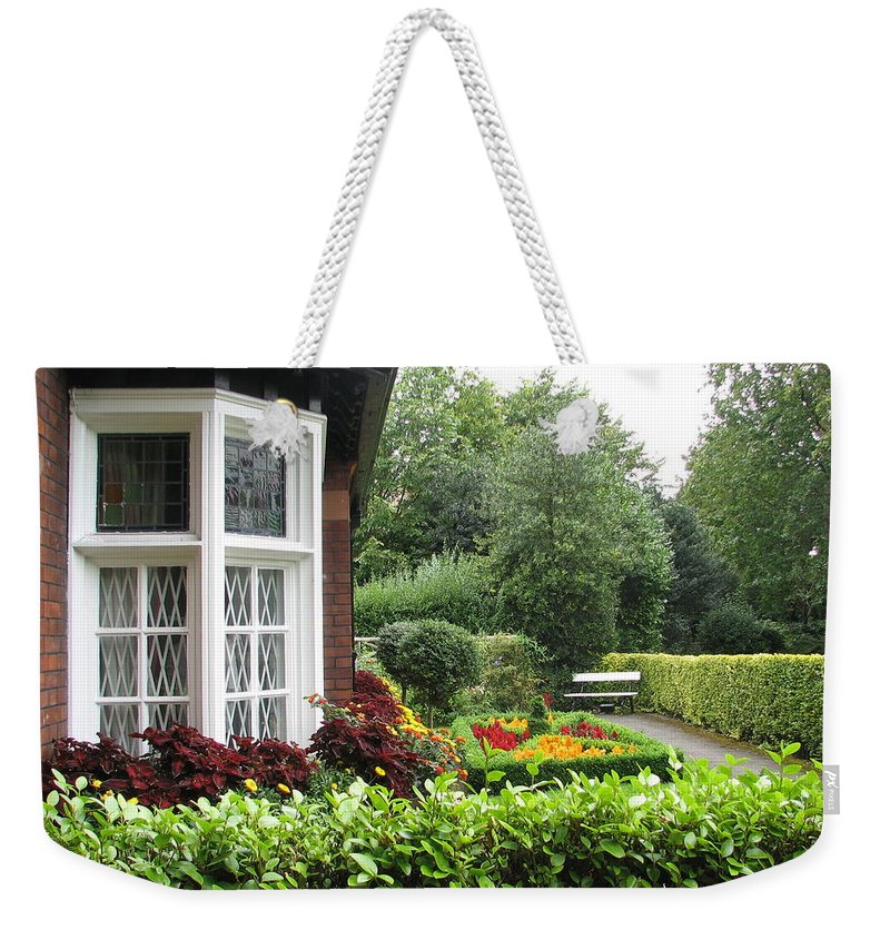St. Stephen's Green Weekender Tote Bag featuring the photograph St. Stephen's Green by Kelly Mezzapelle