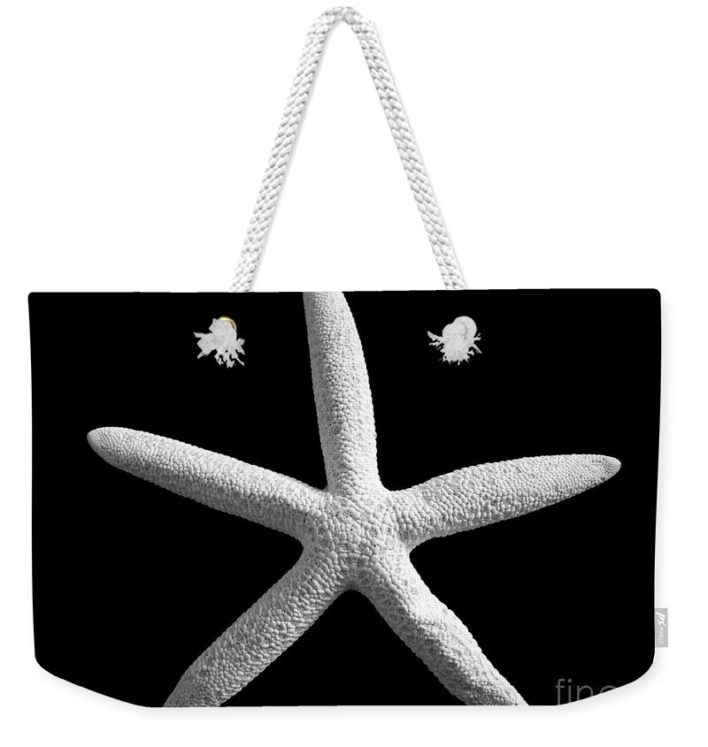Mary Deal Weekender Tote Bag featuring the photograph Starfish by Mary Deal