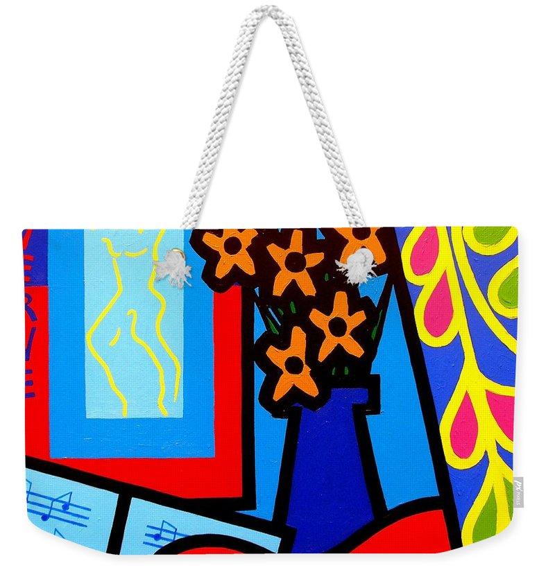 Yule Paintings Weekender Tote Bags