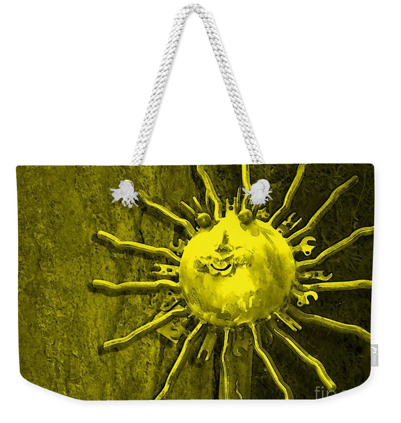 Sun Weekender Tote Bag featuring the photograph Sun Tool by Debbi Granruth