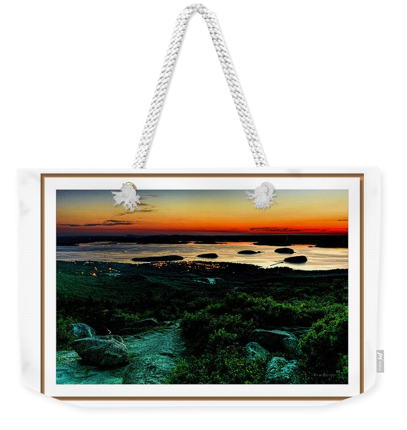 04-landscape Weekender Tote Bag featuring the photograph Sunrise by Myer Bornstein