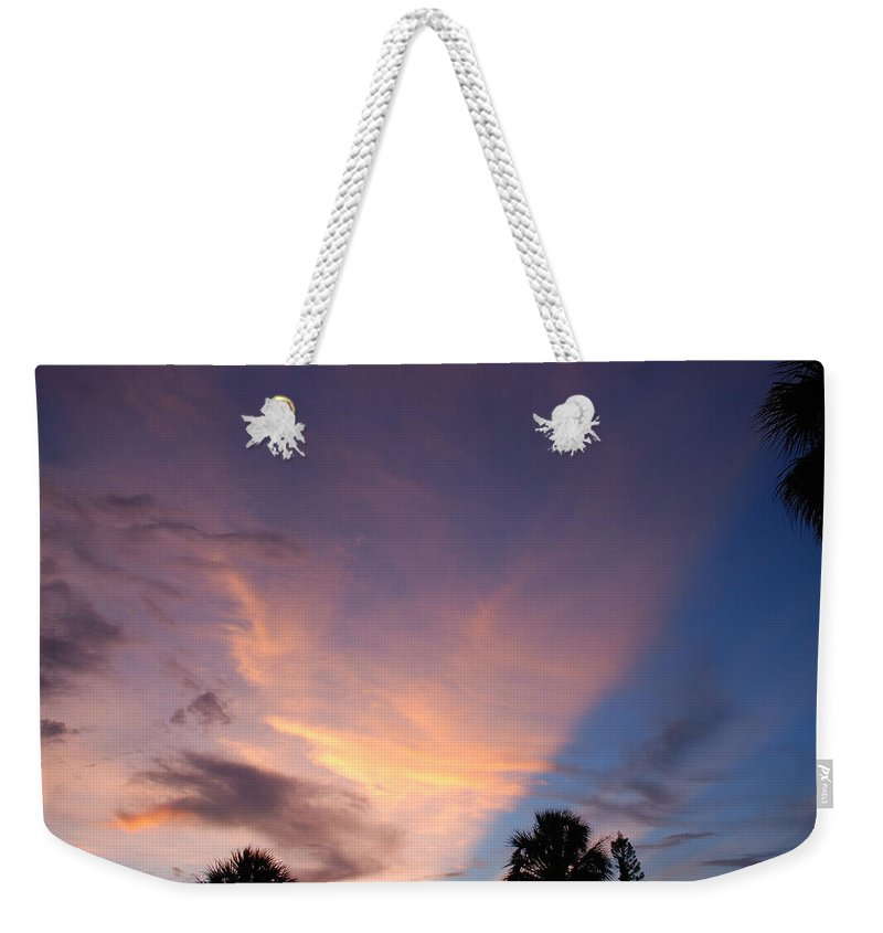 Sunset Weekender Tote Bag featuring the photograph Sunset At Pine Tree by Rob Hans