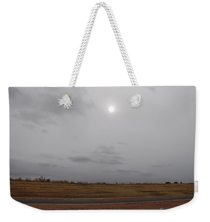 Desert Weekender Tote Bag featuring the photograph Sunset In The Desert by Rob Hans