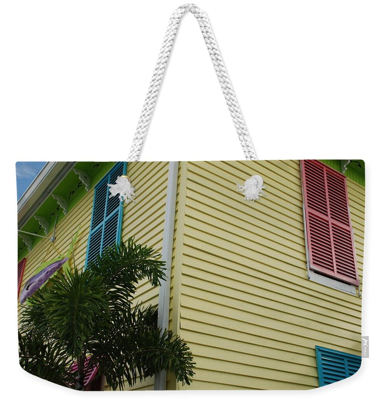 Architecture Weekender Tote Bag featuring the photograph The Beach House by Rob Hans