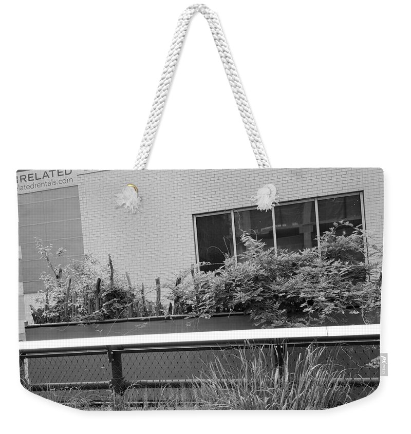 The High Line Weekender Tote Bag featuring the photograph The High Line 151 by Rob Hans