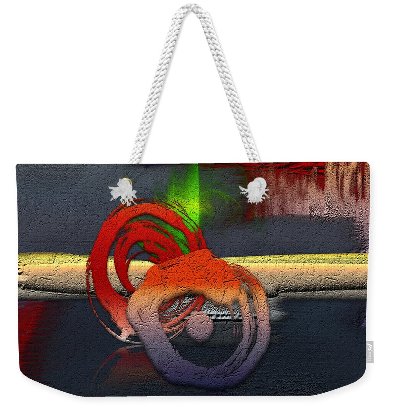 Abstracts Plus By Serge Averbukh Weekender Tote Bag featuring the photograph The Night is Young by Serge Averbukh