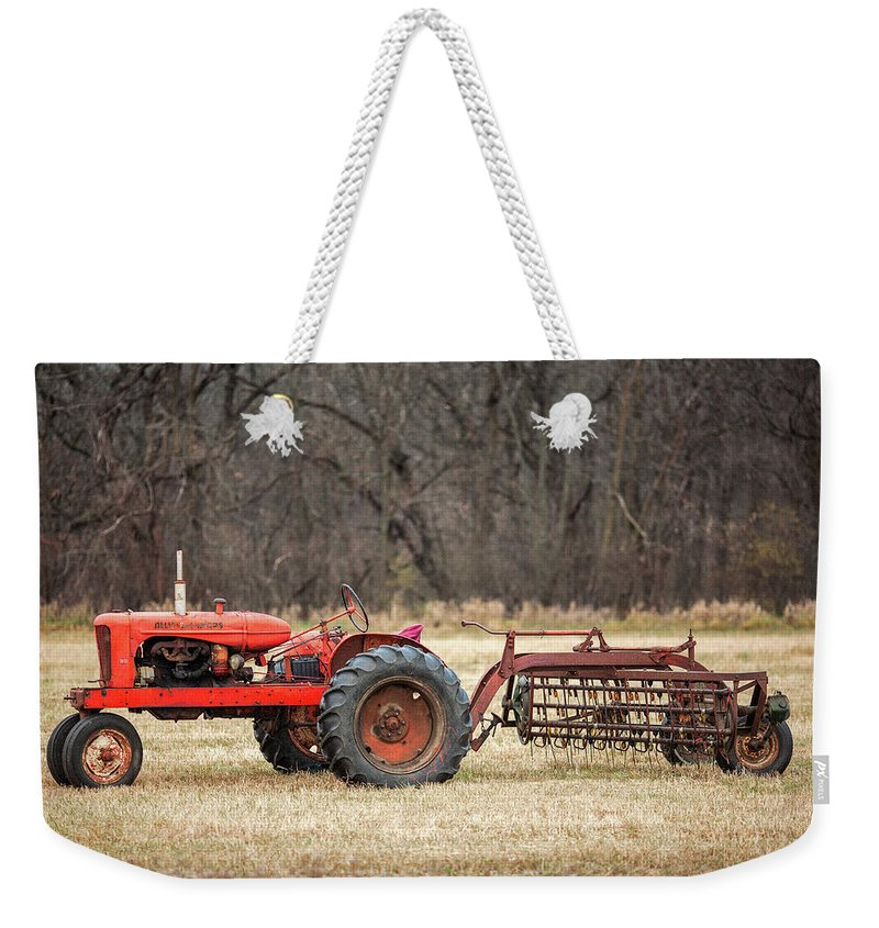 Old Weekender Tote Bag featuring the photograph The Ol' Wd by Todd Klassy