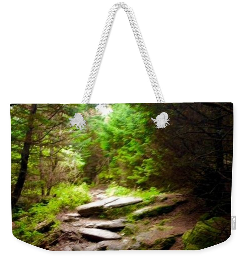 Living Room Weekender Tote Bag featuring the photograph The Path To Righteousness by Johnnie Stanfield