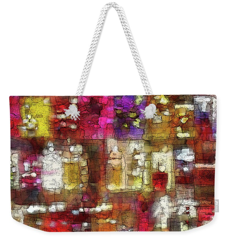 Bottles Weekender Tote Bag featuring the photograph To Each His Own by Ian MacDonald