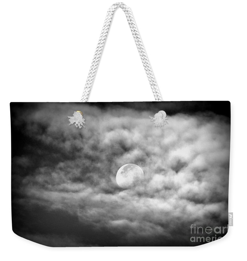 Moon Weekender Tote Bag featuring the photograph Moonglow by Jaunine Roberts