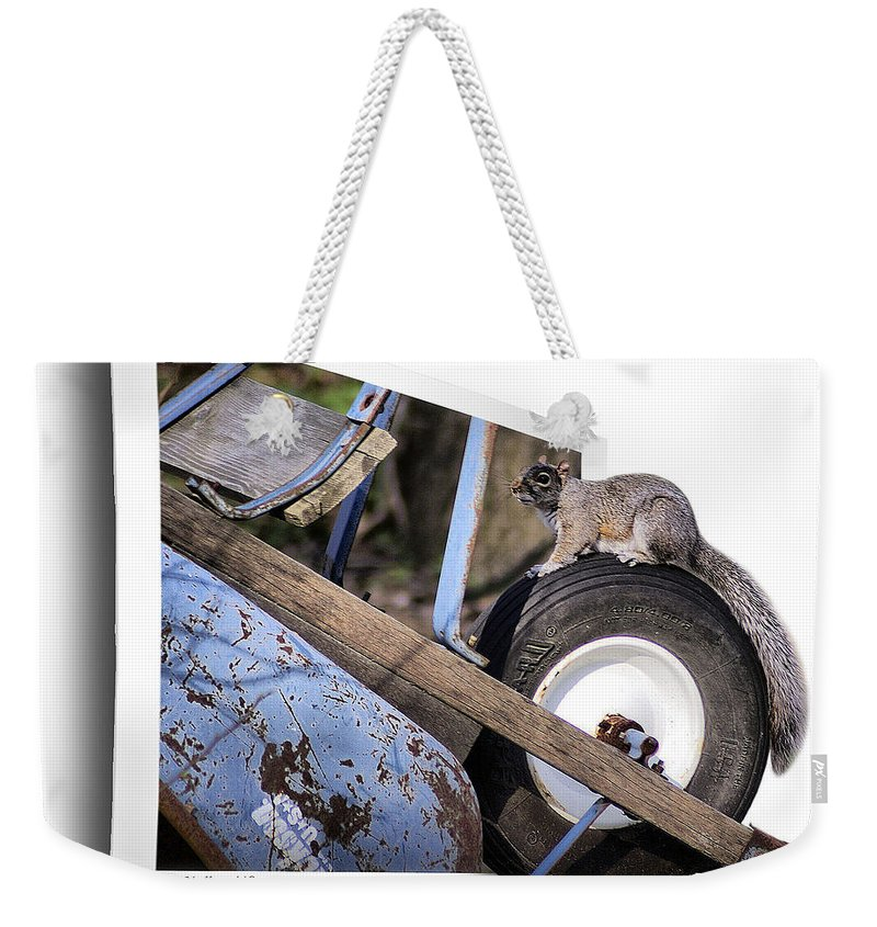 2d Weekender Tote Bag featuring the photograph Treadmill by Brian Wallace