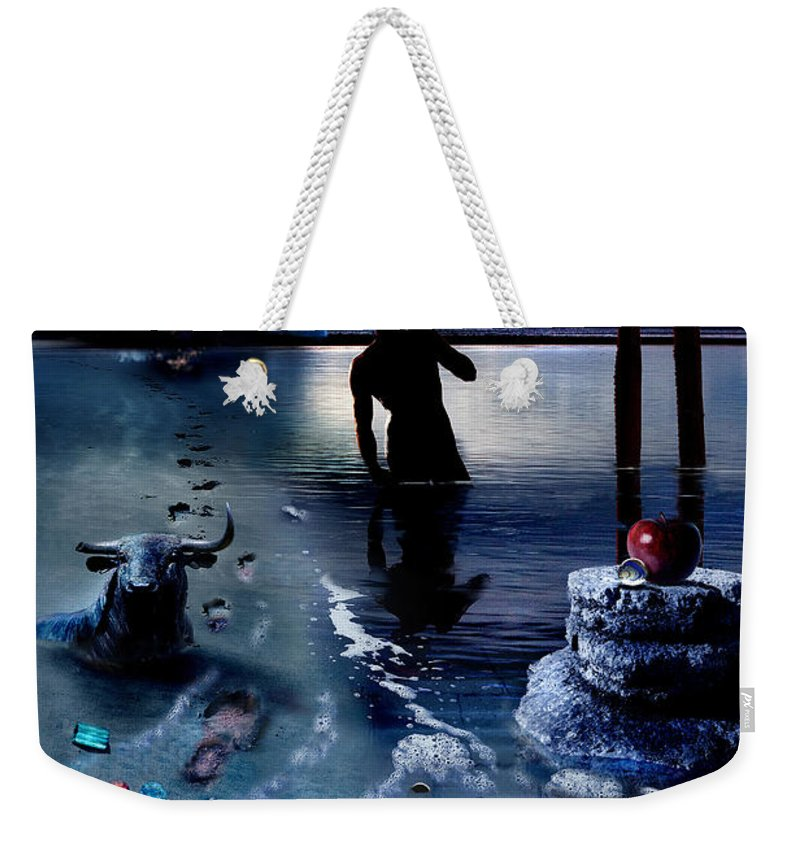 Treasure Weekender Tote Bag featuring the photograph Treasure Island by Mal Bray