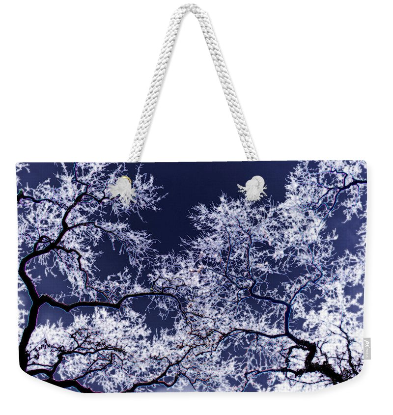 Tree Weekender Tote Bag featuring the photograph Tree Fantasy 17 by Lee Santa