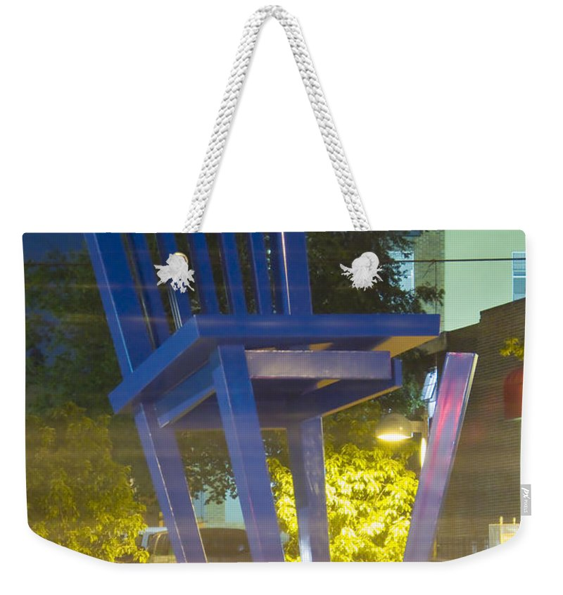 Unglued Weekender Tote Bag featuring the photograph Unglued by Jeffery Ball