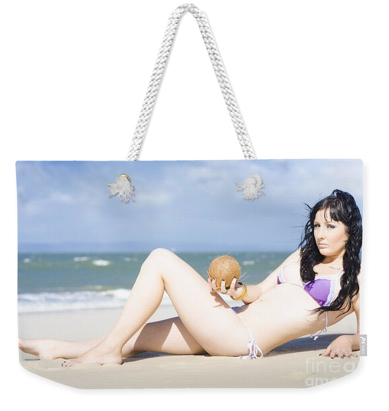 Vacation Weekender Tote Bag featuring the photograph Vacation by Jorgo Photography - Wall Art Gallery