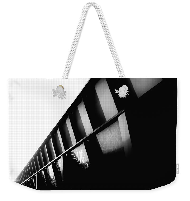 Minimalism Weekender Tote Bag featuring the photograph Vanishing by Julian Grant