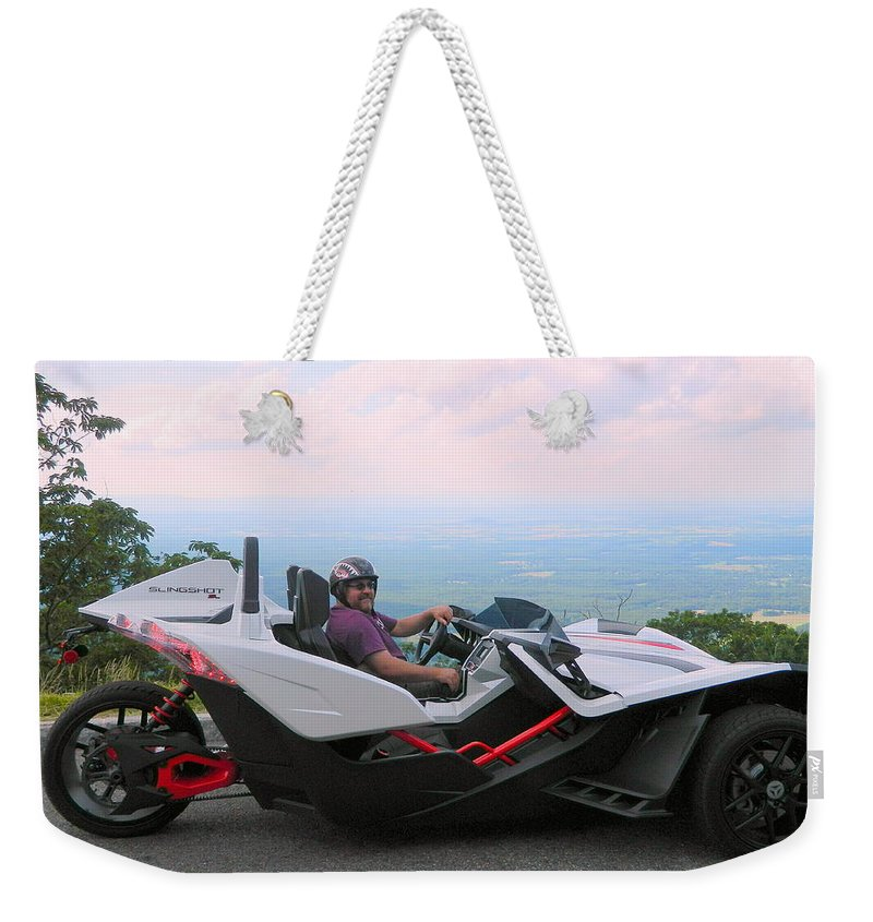 Stock Car Weekender Tote Bag featuring the photograph Vehicles Series by Arlane Crump