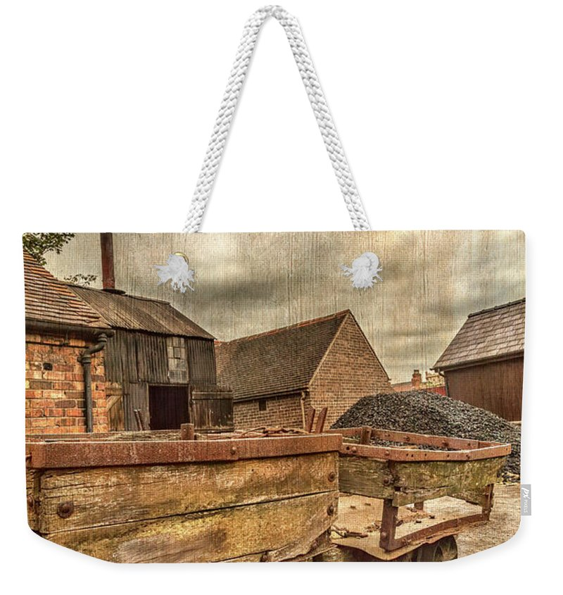 Victorian Weekender Tote Bag featuring the photograph Victorian Colliery by Adrian Evans
