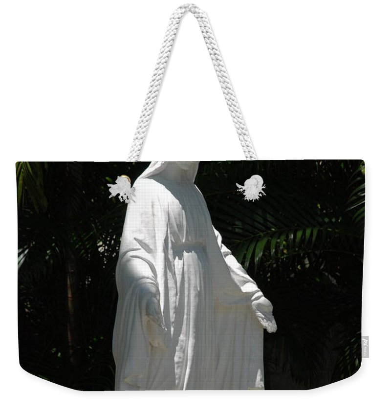 Florida Weekender Tote Bag featuring the photograph Virgin Mary by Rob Hans