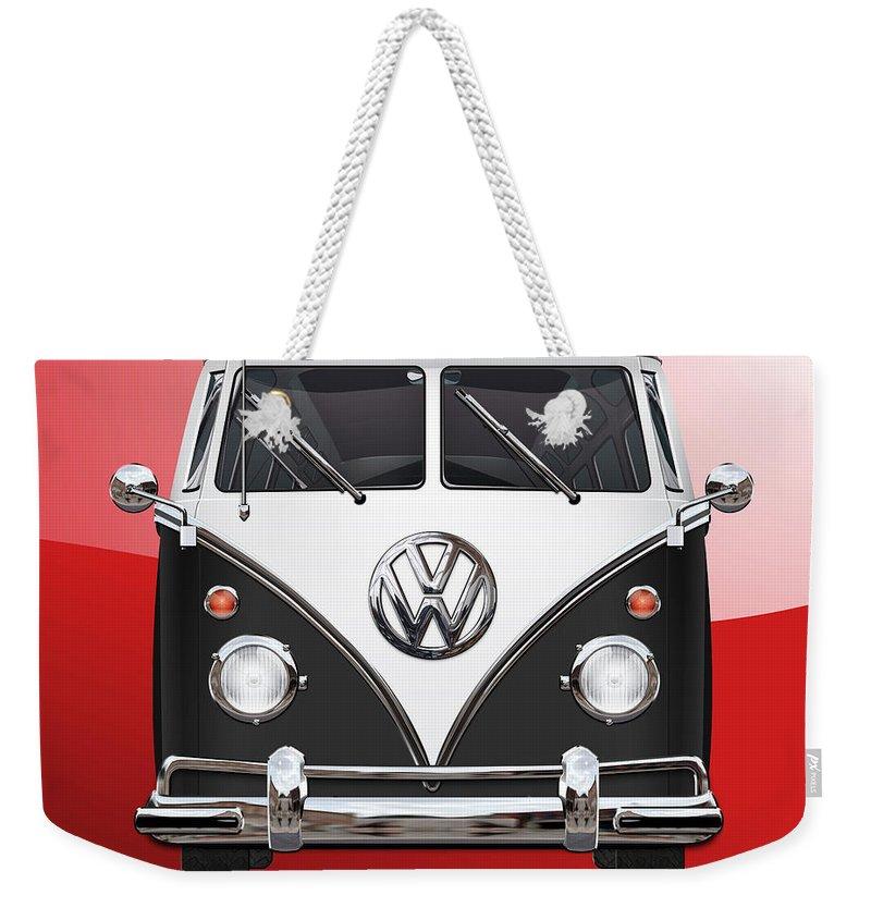 Volkswagen Bus Weekender Tote Bags