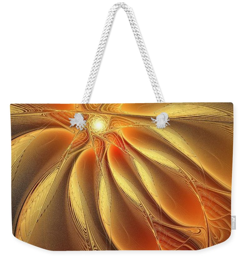 Digital Art Weekender Tote Bag featuring the digital art Warm Feelings by Amanda Moore